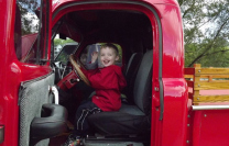 Evan's Touch The Truck - Orr Insurance